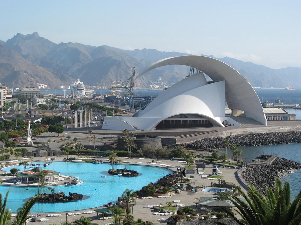 Auditorio de Tenerife by Calatrava | Santa Cruz de ...  Auditorio de Te...