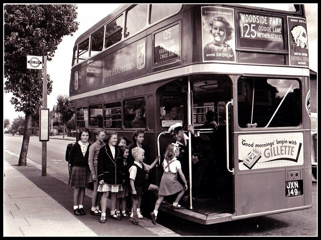 1950s bus | Britain | Pinterest |Photos Old City Buses 1950