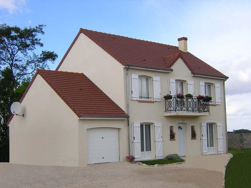 Pin constructeur maison de loiret pavillon bain on pinterest for Constructeur maison loiret