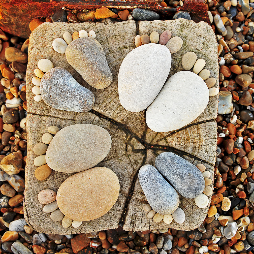 Поделки с морского камня