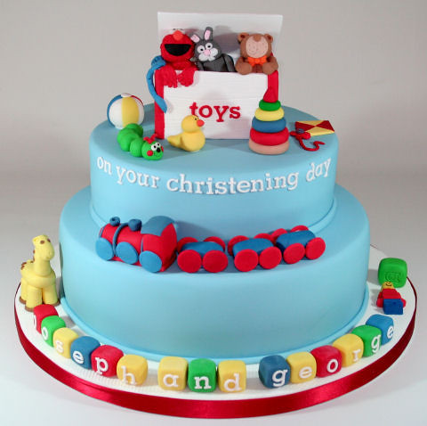 Toy Story Toy Box Cake Topper