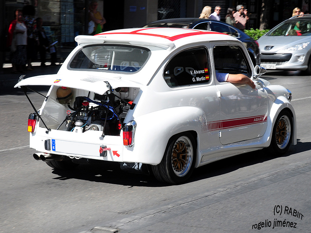 FIAT 600 Abarth | RABIIT | Flickr