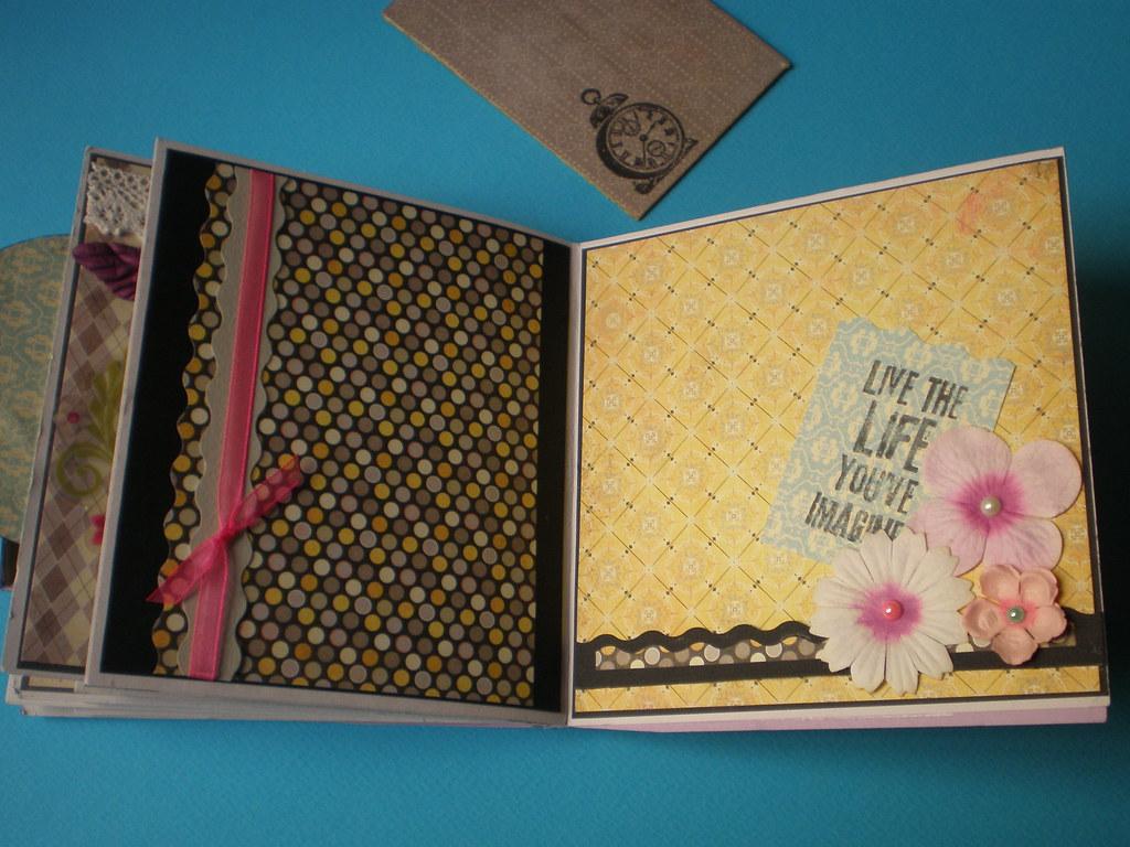 handmade scrapbook album milona flickr