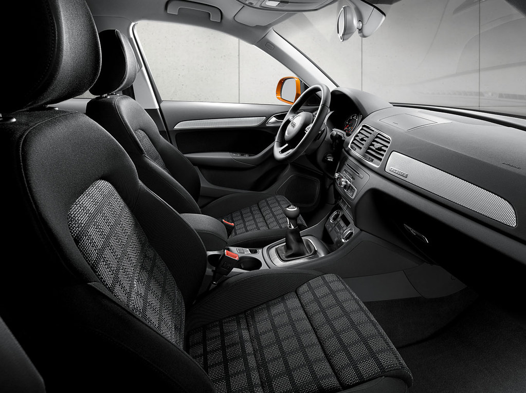 audi q3 energy cloth interior energy cloth interior in bla flickr. Black Bedroom Furniture Sets. Home Design Ideas
