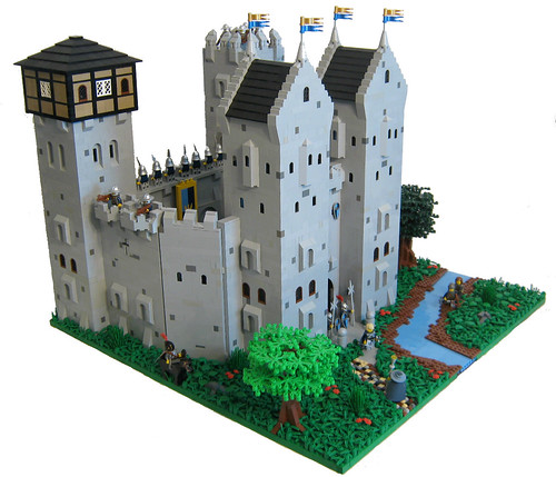 Dawn Armour Castle | by LegoLord.