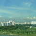 Panorama from the Singapore Flyer