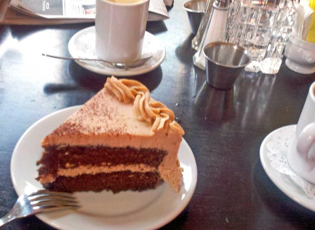 Chocolate Kahlua Cake Calories