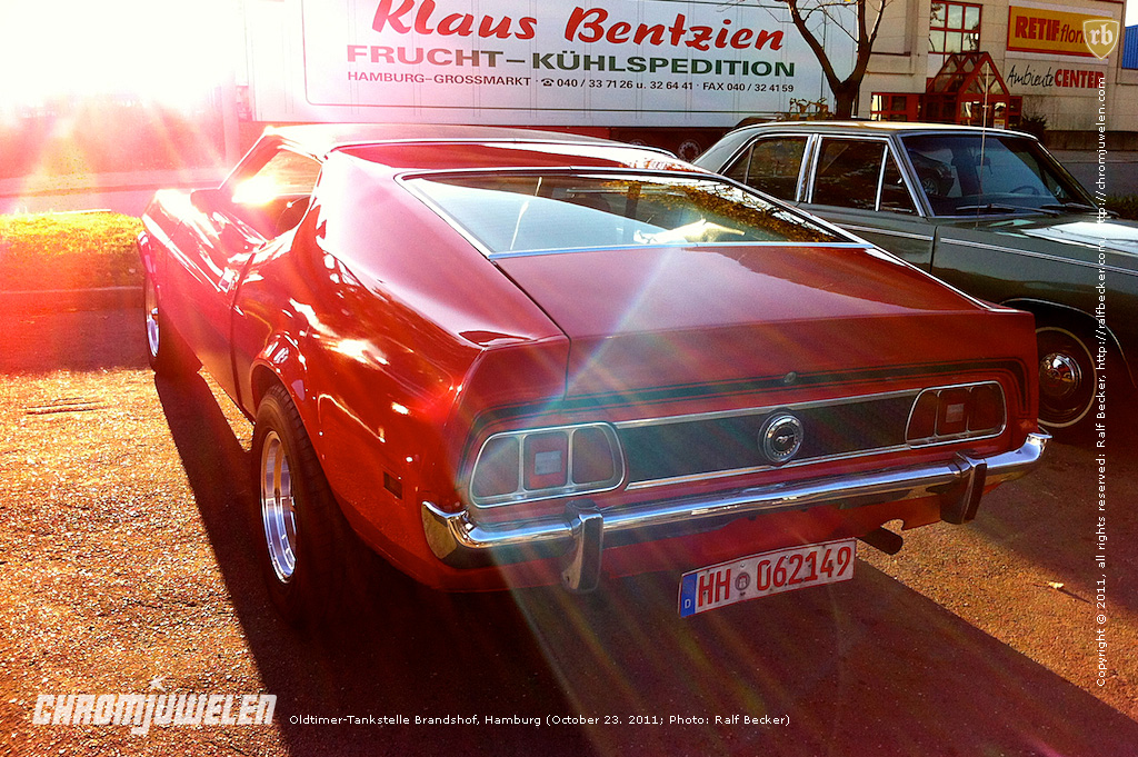 oldtimer tankstelle brandshof hamburg ford mustang ralf becker flickr. Black Bedroom Furniture Sets. Home Design Ideas
