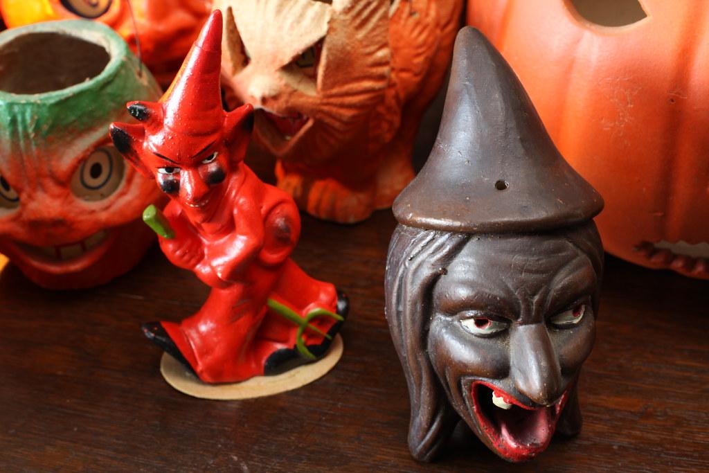 Compo Devil, Ceramic Witch | Brenda McNeilly | Flickr