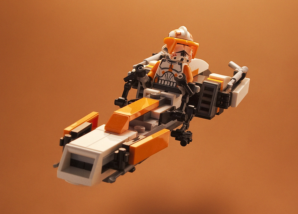 Custom Lego Barc Speeder Cody S Another Version Of My
