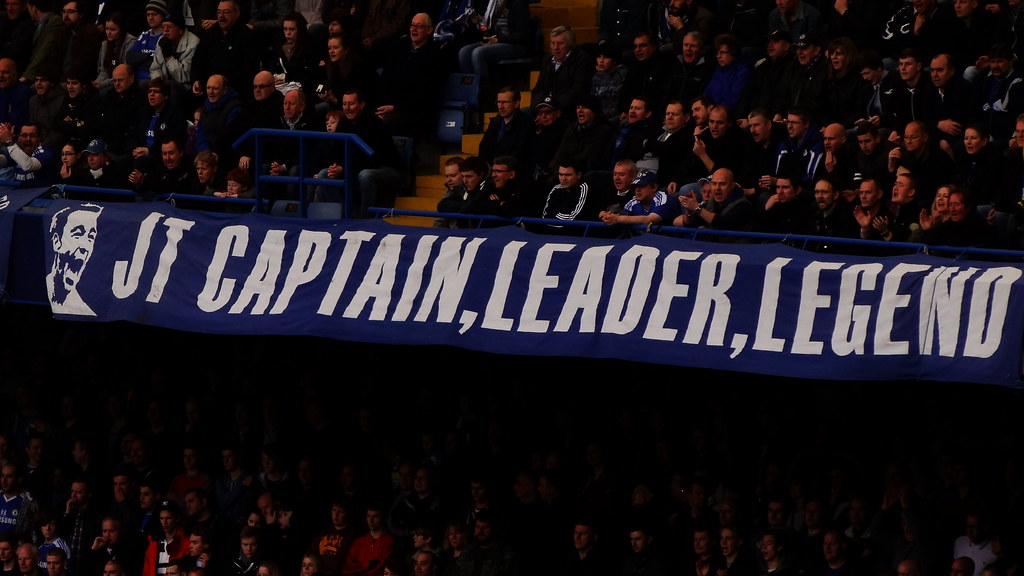 Chelsea banner: JT Captain, Leader, Legend | Ben ...