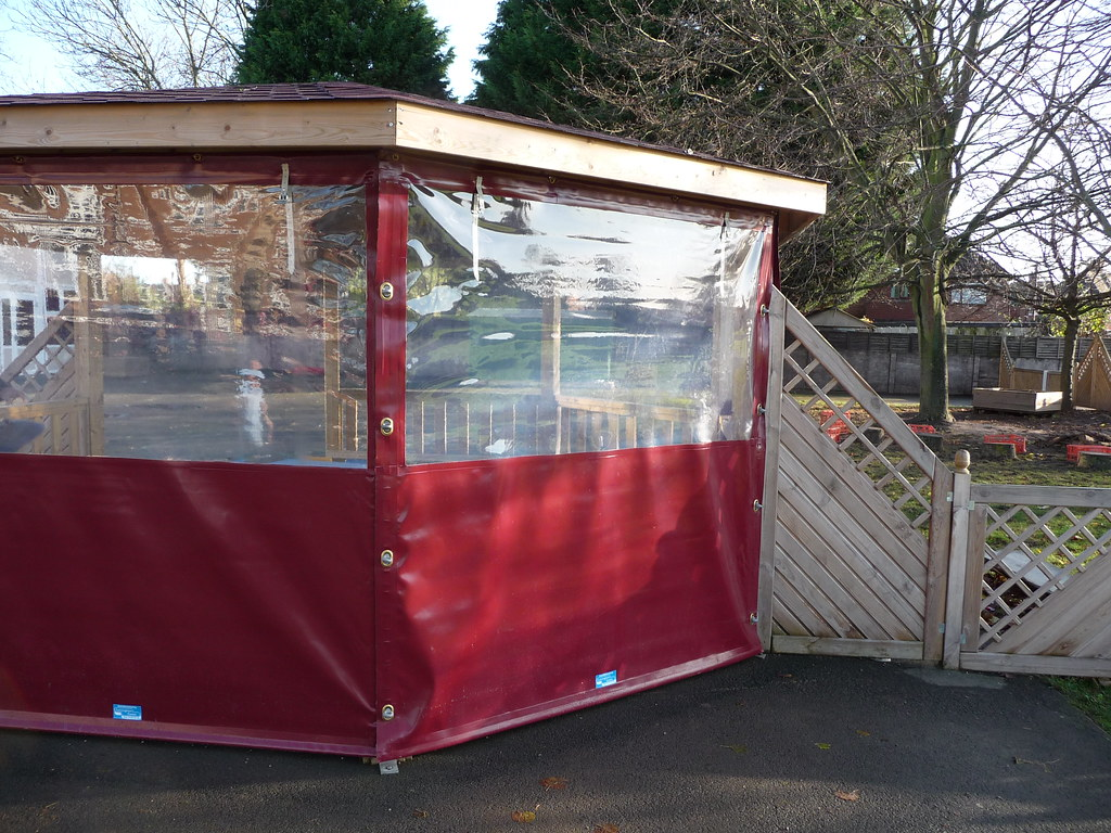 Side Panels For Gazebo Maroon Cover For Playground