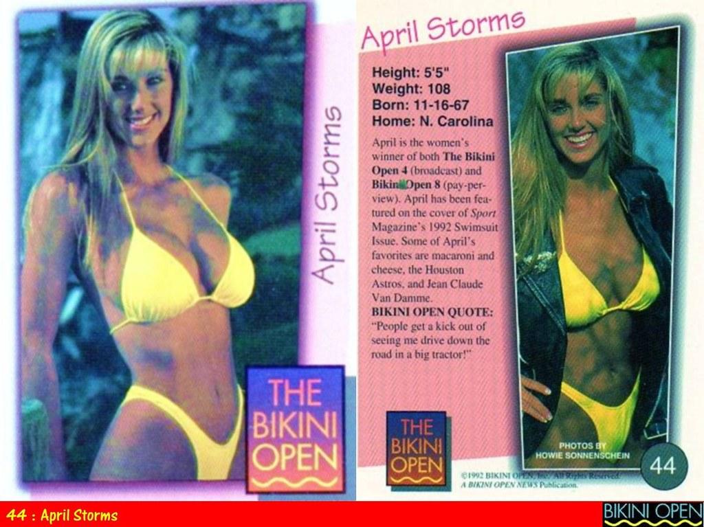 Bikini trading cards