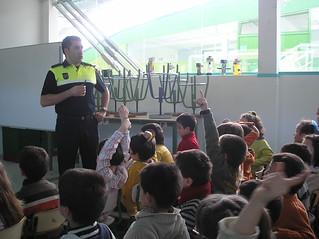 Acción formativa de un policía municipal