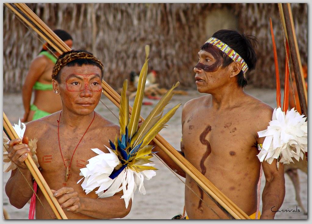 Artesanato Halloween Eva ~ Indios Yanomamis Antonio Diaz Flickr