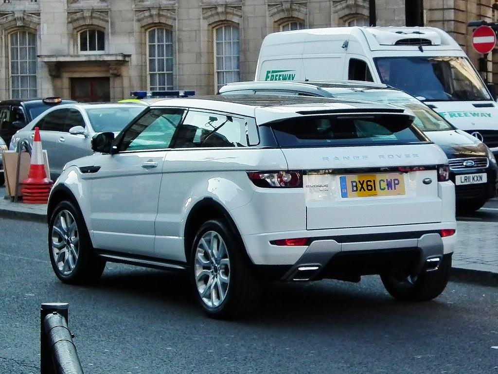 Land Rover Evoque Dynamic Coupe 2011 Range Rover Evoque