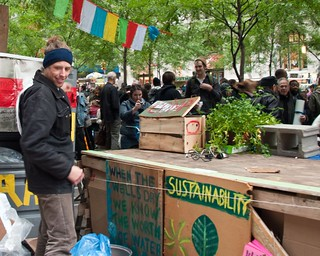 Composting at Occupy Wall Street (13/37) | by Tony Fischer Photography