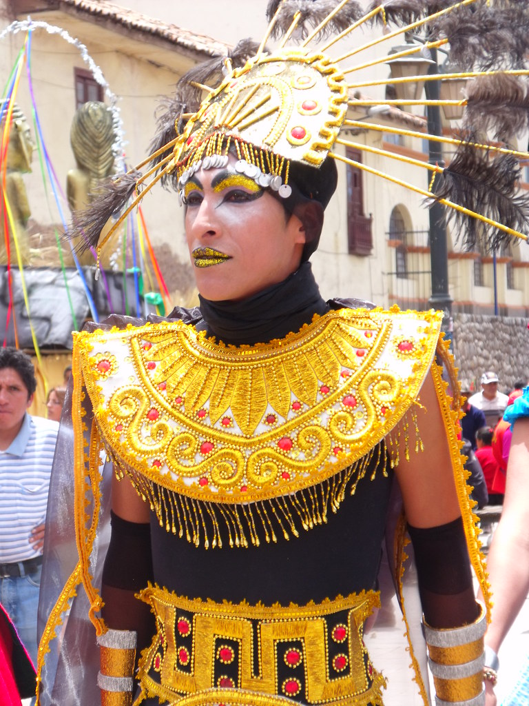 Inca royalty Son of the Sun costume