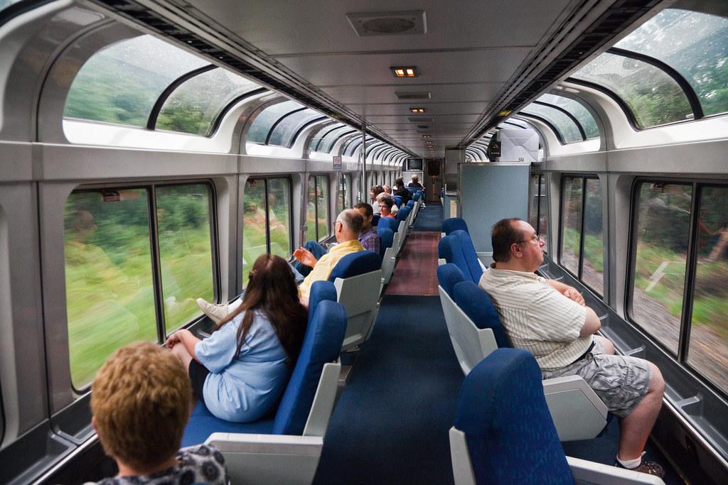 Observation Car Amtrak New York