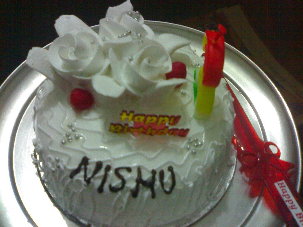Wish You Happy Birthday Cake With Name Brithday Cake