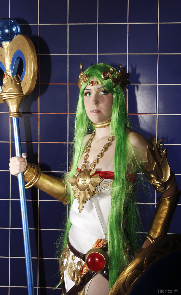 Palutena Kid Icarus Uprising Salon Del Manga Xvii Faceboo Flickr