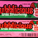 Bubblicious - Wild Strawberry - bubble gum pack - late 1980's early 1990's