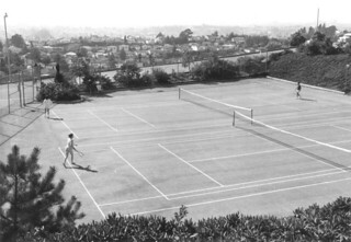 College of the Holy Names old tennis courts | by Holy Names University