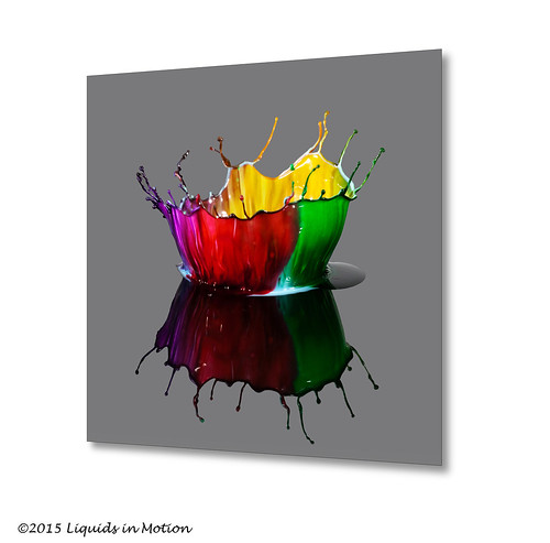 Four Color Crown #7512 | ©2011 - www.liquids-in-motion.com | by Liquids-in-Motion