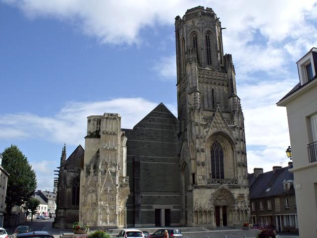 Saint-Lo France  city photos : Notre Dame Church, St Lo | francemoblie.blogspot.com/2011/11 ...