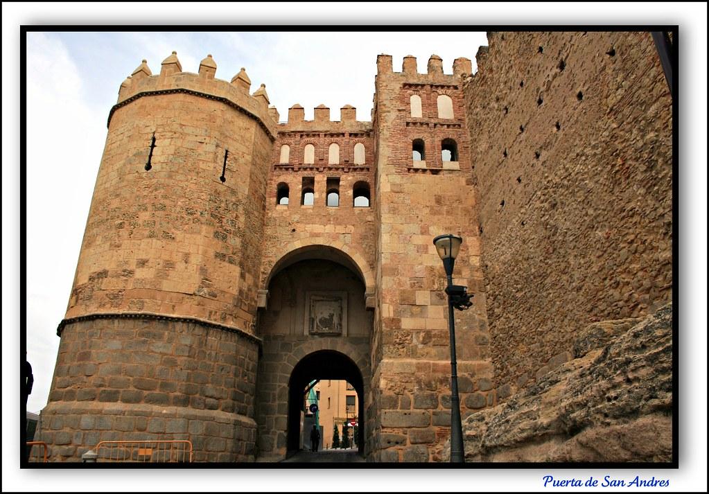 Segovia puerta de san andres la puerta de san andr s de - Puerta de segovia ...
