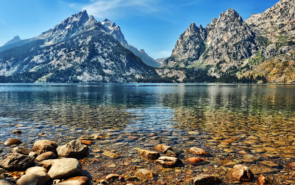 Clear Water At Jenny Lake 169 Jeff R Clow This Was Taken