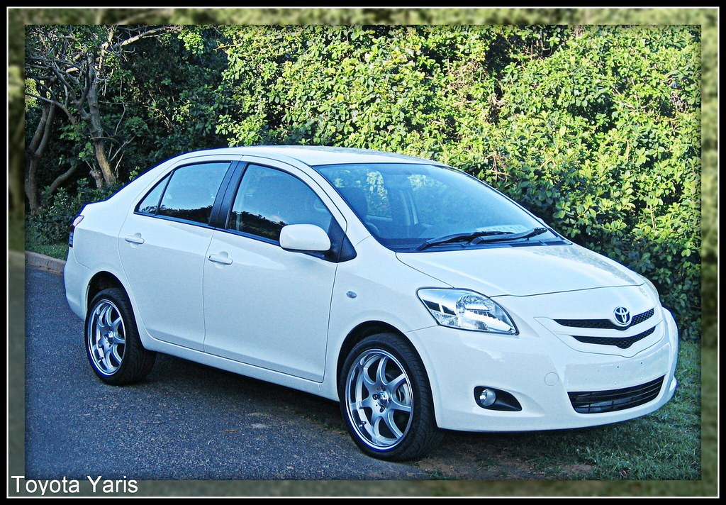 Captivating 2007 Toyota Yaris Sedan   South African Spec | By PaulO Classic. ©