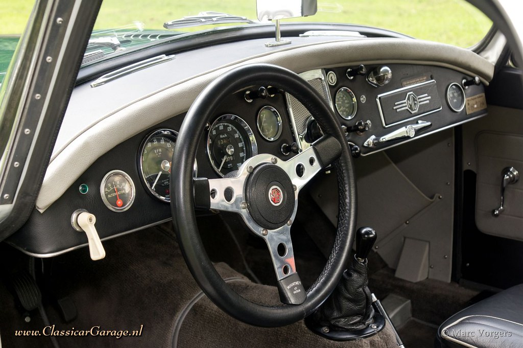 1957 Mg Mga Coupe Rally Car Dashboard Marc Vorgers Flickr