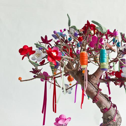 L 39 arbre aux souhaits monde r alis en p te polym re ruba flickr - L arbre a souhait ...