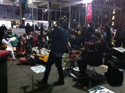 Occupy Sydney - Jazz band rocks Martin Place | by timlonghurst