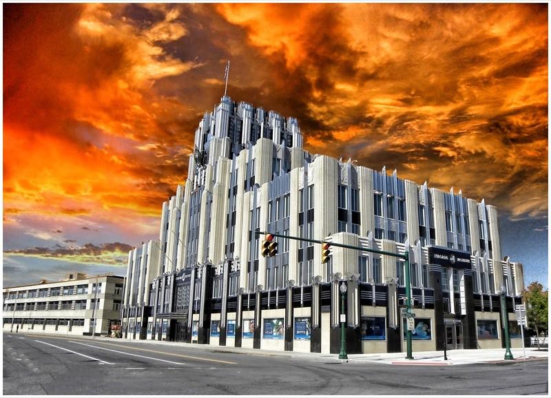 Niagara Mohawk Building Syracuse Ny Art Deco Was The