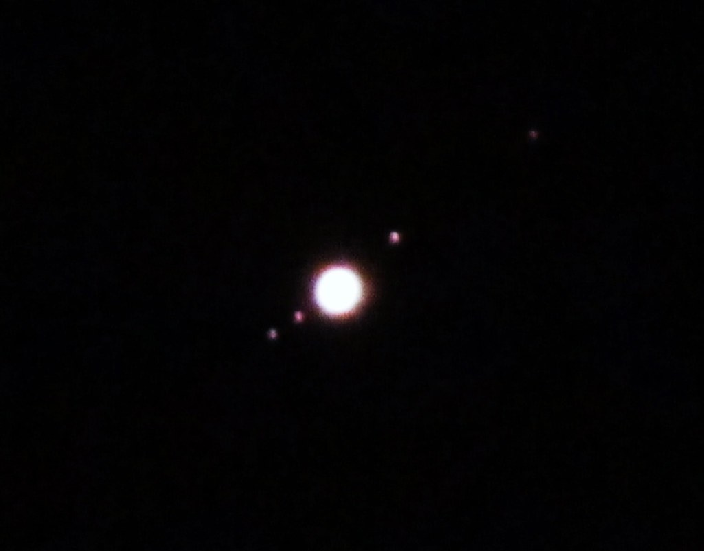 jupiter and its moons with white back - photo #13