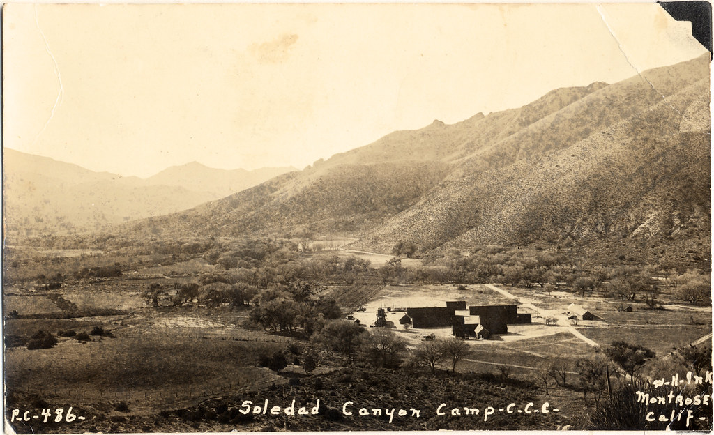 Camp Schofield 1933 30500 Arrastre Canyon Rd Lat 34 176 2