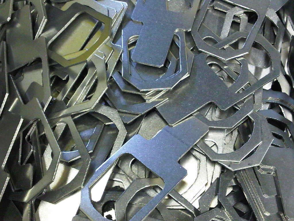 Sheet Metal Mild Steel Brackets After Trumpf Cnc Punching