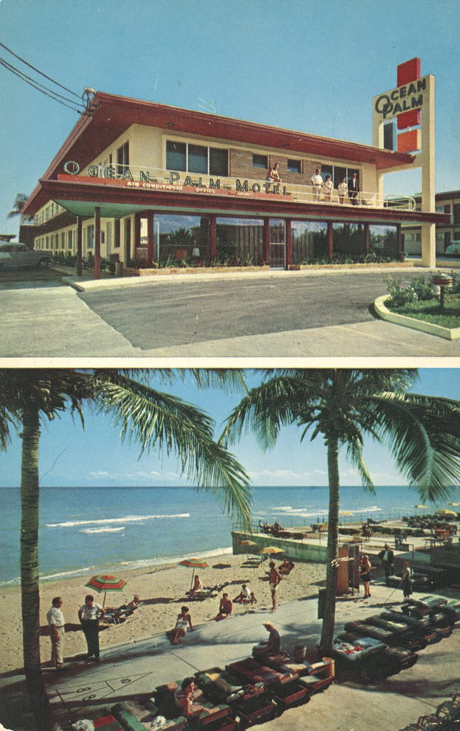 Ocean Palm Motel - Miami Beach, Florida