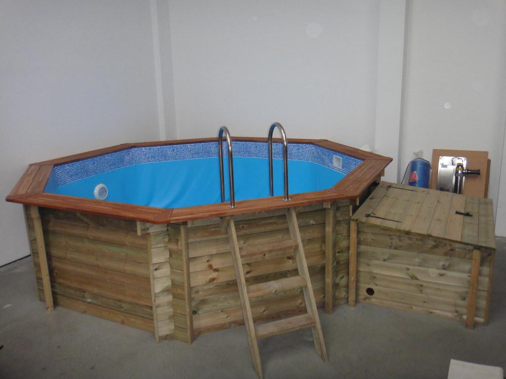 plastica 4m wooden premium above ground pool plastica. Black Bedroom Furniture Sets. Home Design Ideas