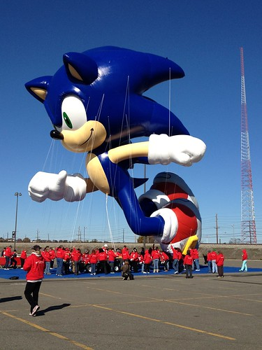 Sonic Balloon Test Flight | by SEGA of America