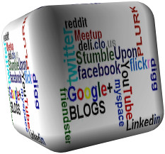 Social Media Marketing Cube | by opportplanet
