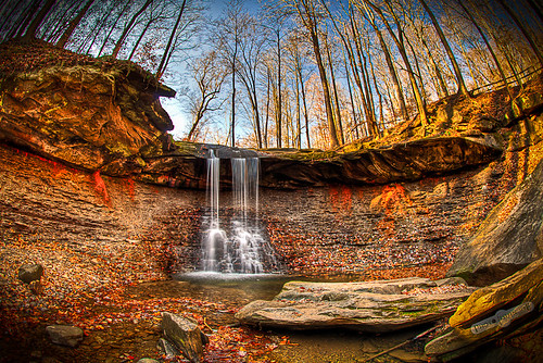 Blue Hen Falls HDR | by photofishinjoe