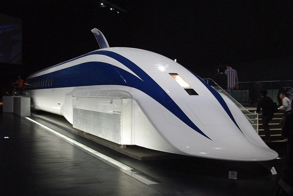 electrodynamic suspension japan s mlx01 maglev train