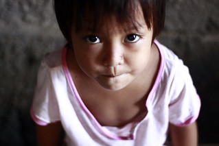 Child looking up | by World Bank Photo Collection