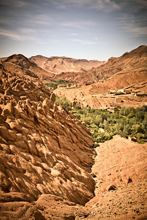Looking down over Dades. | by Umbreen Hafeez