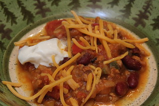 Pumpkin turkey chili | by erin.kkr