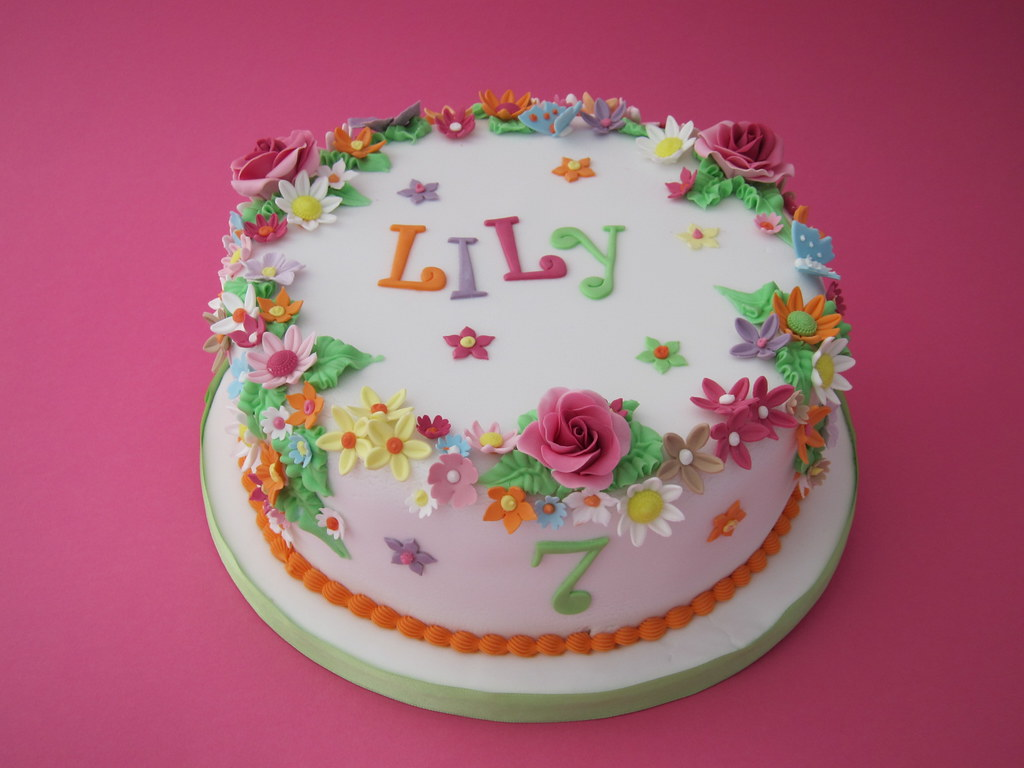 Lilys Birthday Cake Marie Paule Flickr