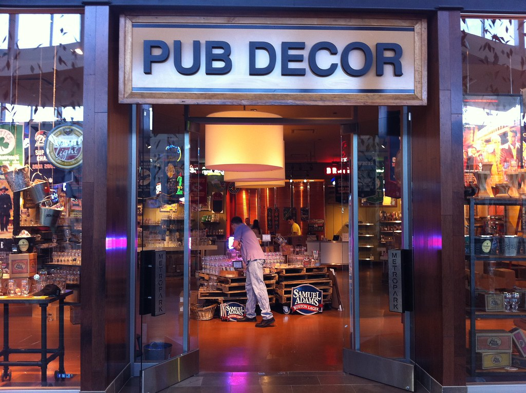genius new store at natick mall pub decor they just open flickr. Black Bedroom Furniture Sets. Home Design Ideas